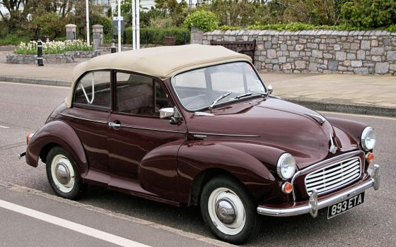 Morris Minor 1000 roadster by UdoChristmann