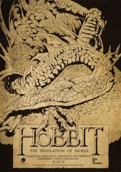 The Hobbit: The Desolation of Smaug fan art by harijz