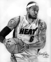 LeBron James by gerd324