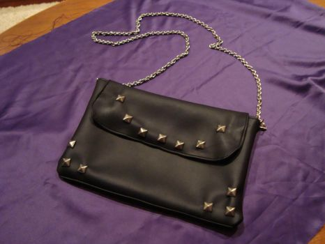 Studded Purse by skinywitch