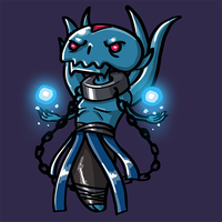 Dota Fanart v2 - Lich by KidneyShake