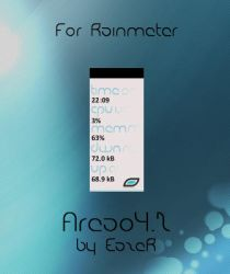 Areao4.2 for rainmeter by EazeR