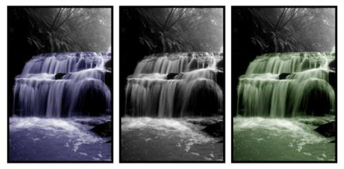 Triptych Falls by rosiescape