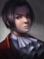 Miles Edgeworth by lepyoshka