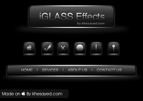 Glass Effect by ikale