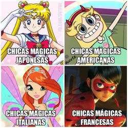 Magical Girls alias Chicas Magicas by UdinIwan
