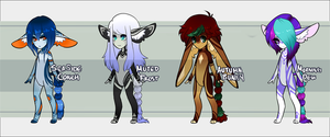 Adoptables: Chibi Tassel Tail Auction 01 by GomDrop