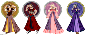 Princesses by erin-hime