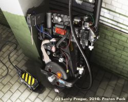 Proton Pack by Zlydoc
