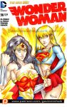 Wonder Woman and Supergirl by GavinMichelli