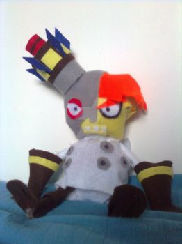 N. Gin Doll from Crash Bandicoot Series by Noxonius