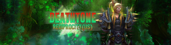 Twitter Banner - Deathtone by CozmicWolf