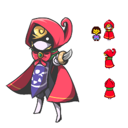 Undertale: The Little Red Slicing Hood by Tyxant