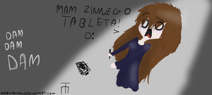 Zimny tablet. by MarutaChan