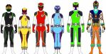 Power Rangers System's Impact. Updated!! by Eddmspy