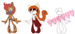 Endangered Animals Adopt Batch Auction: OPEN by Amy-Roses-Adopts