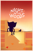 -- Night in the woods -- by 0l-Fox-l0