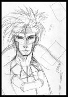 Gambit - Sketch by LauraKjoge