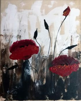 Poppies for a request by Galadriel34
