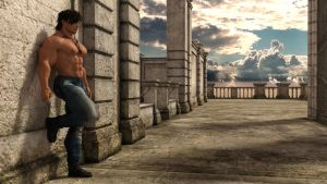 Hunk at the wall (7) by Catweazle01