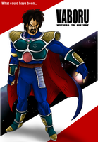 What could have been... Vaboru, King of Saiyans! by kibasennin