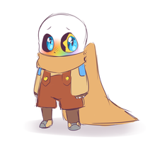 baby ink!Sans by Chara223355