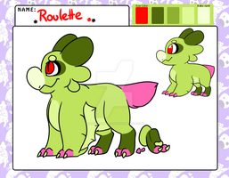 Roulette the Wyngro (Approved!) by SmallTimidBean