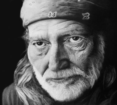 Willie Nelson by Pat-Purcell