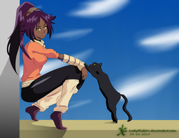 The Cat Lady by LadyMid0ri
