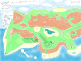 STH3DI - Beach+Meadow Concept Level by Yeow95