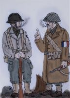 WW2 Soldiers: French 1945 by Gozac1198