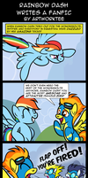 Comic: Rainbow Dash Writes a Fanfic by artwork-tee