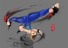 Chun-Li : First Lady of Fighting Games by gothichand