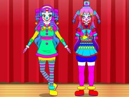 Zeidel clown tf 8 by TechnoPagan9