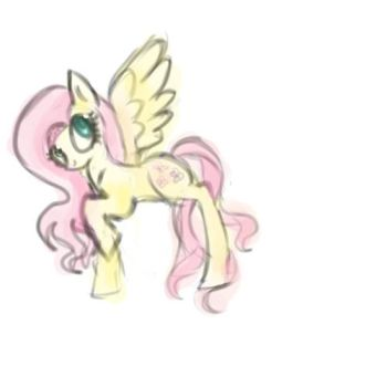 Fluttershy (Updated) by TheMagicCupcake