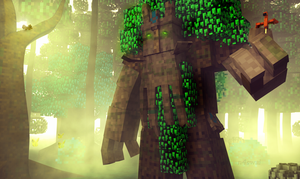 Treant Protector in Minecraft by n4swai