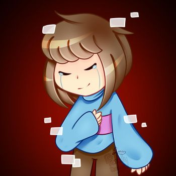 Frisk | Glitchtale by trappefnff