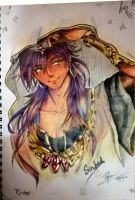 Sinbad from Magi by Jafna2000