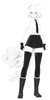 [MMD] I know she reminds you of one white tiger by traineeCross