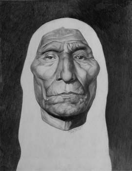 Portrait of Wolf Robe by zoobyshoe