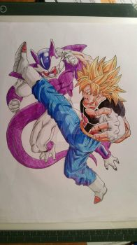Renko VS Coozer color Ball Pen and pencil by hidemaniac