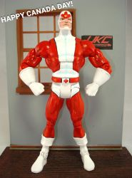 Throwback: Captain Canuck Dc Universe Classics by hunterknightcustoms