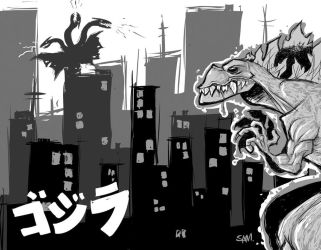 King of the Monsters by Sam-M