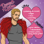 Cullen 'Dream Daddy' Rutherford by mikialice