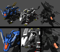 Team Zoids by xcavars