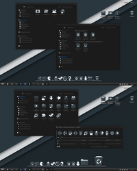 Noctum vs Windows IconPack by alexgal23