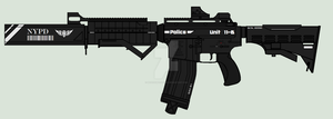 Futurized Ar 15 (S.W.A.T. version) by ModernMercenary