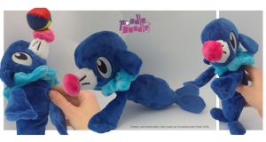 Popplio Pokemon Sun and Moon Beanie Plush