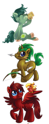 HWCon 2016 - All Fire of Friendship OCs by avui