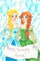 Happy Birthday Anna! by chelleface90